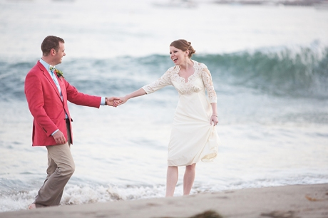 East Beach Santa Barbara Wedding Pictures