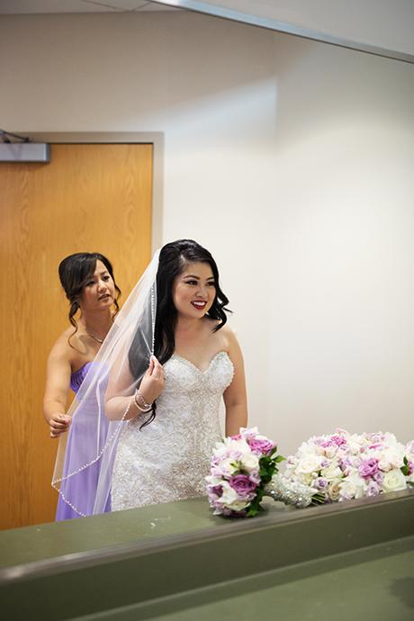 Our Lady of La Vang Catholi Church Wedding