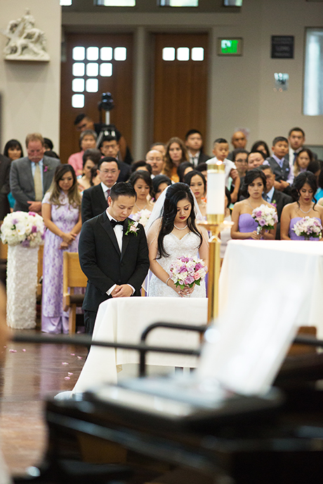 Our Lady of La Vang Church Wedding