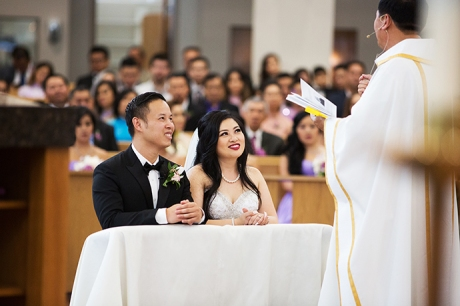 Our Lady of La Vang Church Wedding Pictures