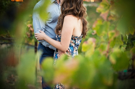 Engagement Pictures at Callaway Winery in Temecula
