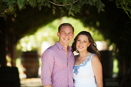 Lorimar Winery Engagement Pictures