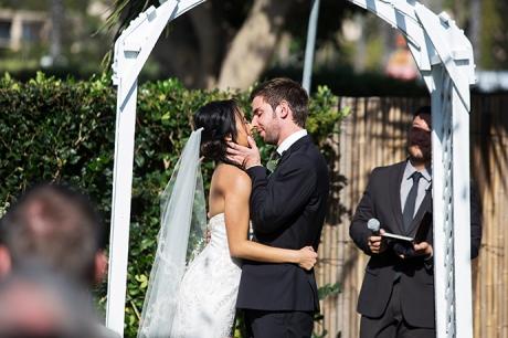 Newport Dunes Wedding Ceremony