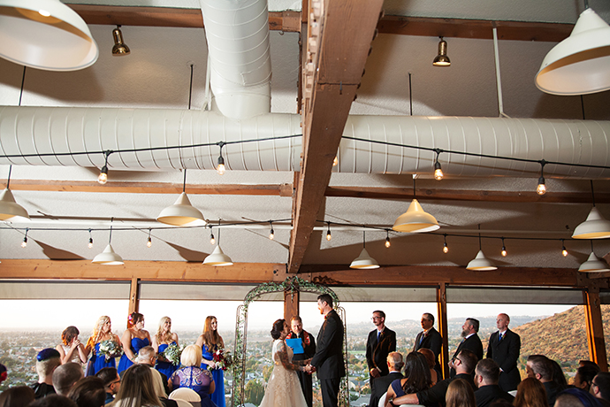 Orange County Mining Company Wedding Ceremony
