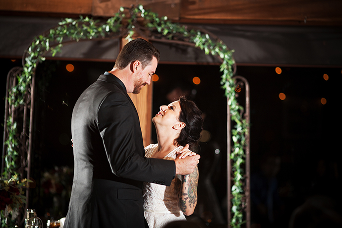 First Dance at Orange County Mining Company Wedding Ceremony