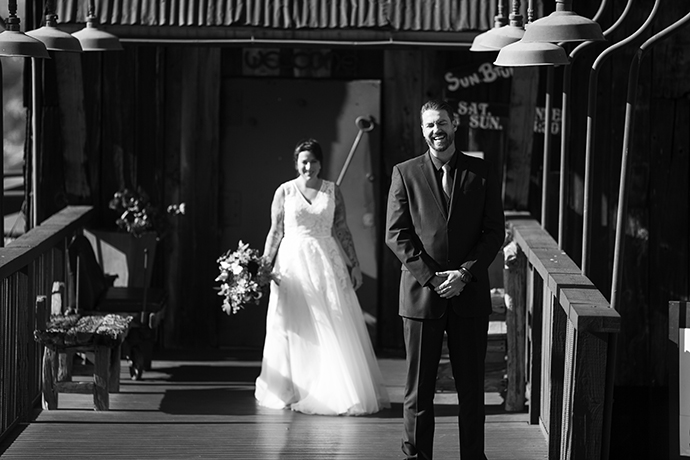 First Look at Orange County Mining Company Wedding