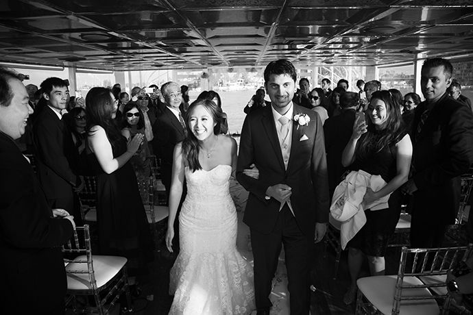 Admiral Yacht Charter Wedding