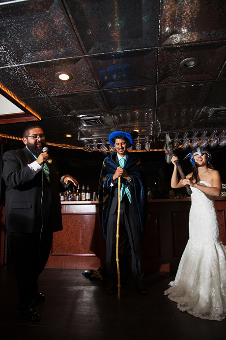 Ambassador Yacht Wedding Reception