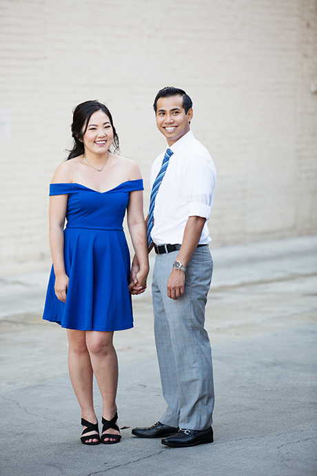 Engagement Session at Balboa Fun Zone