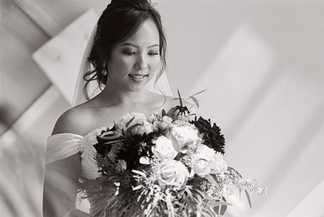 Bridal Portraiture with Ilford Delta 400