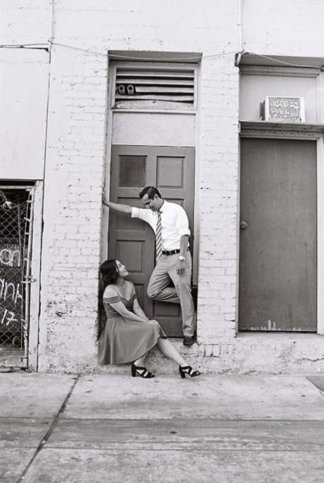 Engagement Photography with Ilford XP2 Super 400