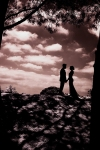 Wedding Portraiture using Infrared Camera