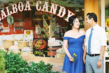 Kodak Portra 400 Engagement Session