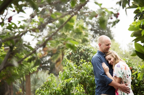 Los Angeles Arboretum Engagement Session