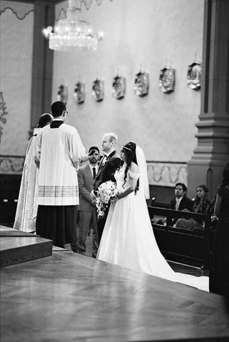 Ilford XP2 Super Wedding Ceremony