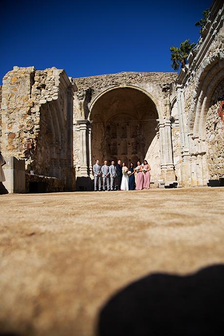 San Juan Capistrano Mission Wedding Photography