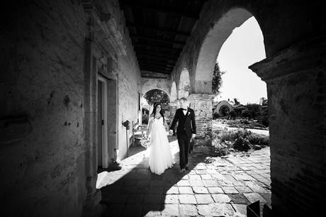 San Juan Capistrano Mission Wedding Photography